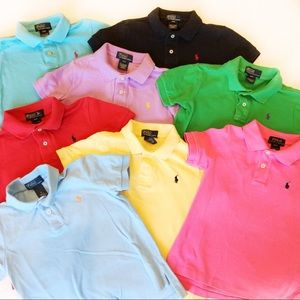 8 Ralph Lauren Boys Polo Shirts